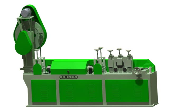 Wire Straightening and Cutting Machine (Solid-M16)