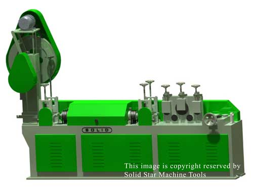 Wire Straightening and Cutting Machine (Solid-M25)