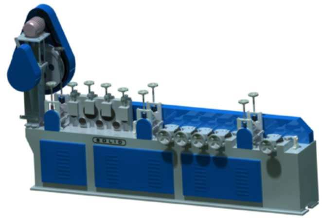 Wire Straightening and Cutting Machine (Solid-TMT)