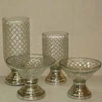 Glass Hurricane Lamp (AC - 416)