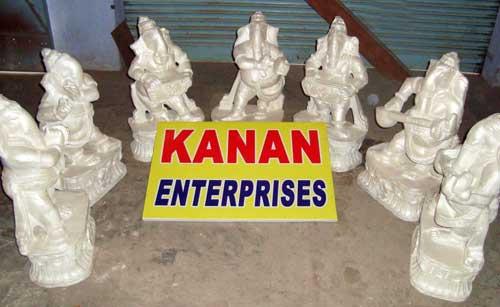 Fiber Ganesha Statue