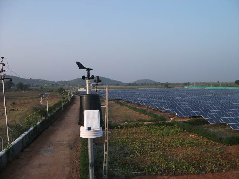 Weather Station Solar PV Plant