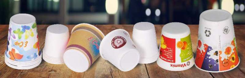 Flat Bottom Paper Cup Manufacturer Supplier in Jaipur India
