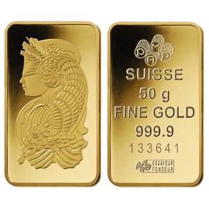 Gold Bullion Bar 02