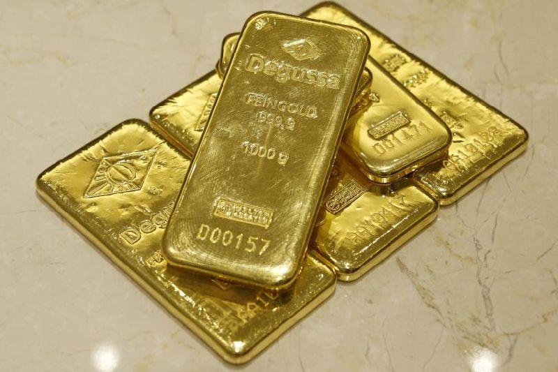 Gold Bullion Bar 01