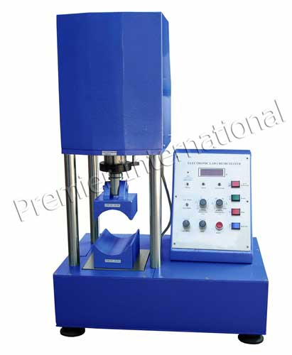 Operated Paper Core Compression Strength Tester