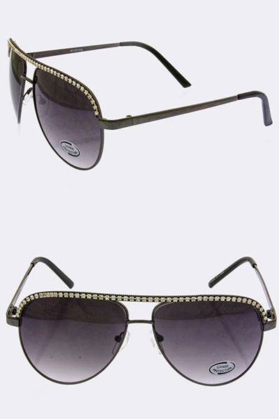 Crystal Sunglass (10SG115-M1257RS)