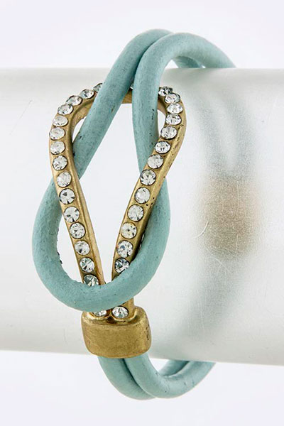 Leather Bracelet (BC606541#5)