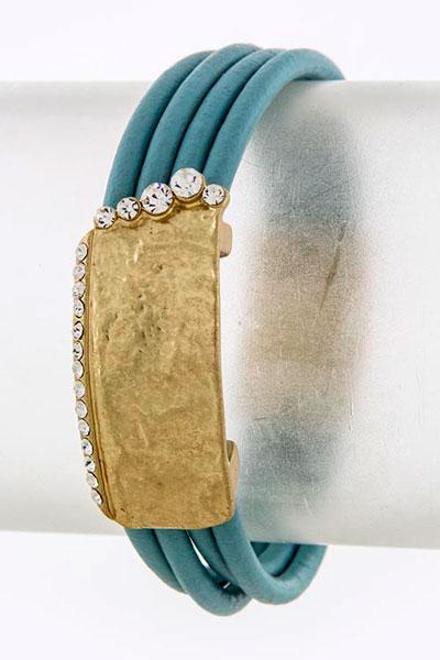 Leather Bracelet (BC607108)