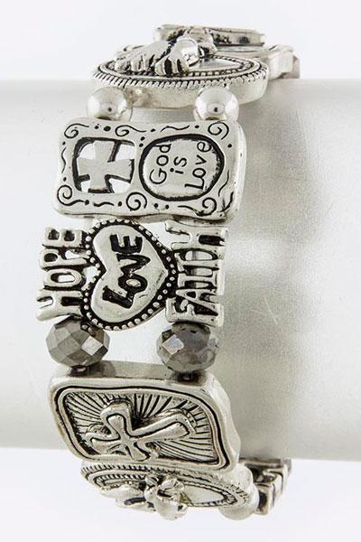 Metal Bracelet (B2436#3)