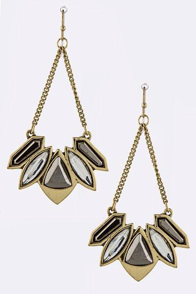 Trendy Earring (E70257#2)