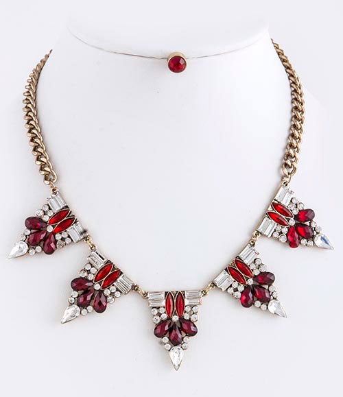 Trendy Necklace (N2498#4)