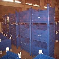 Metal Bin Box Pallets