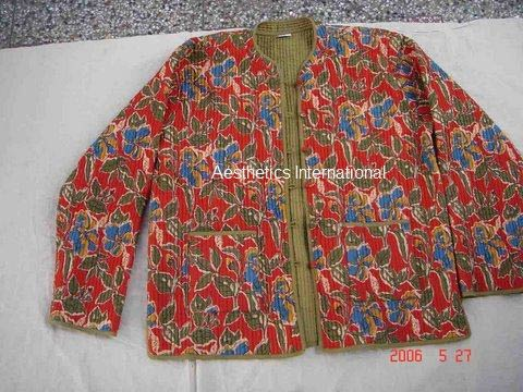 Cotton Quilted Reversible Jacket Reversible Cotton Quilted