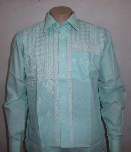 Chikankari Full Sleeve Shirt