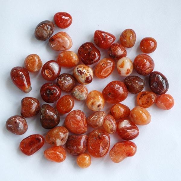 Red Carnelian Polished Pebbles