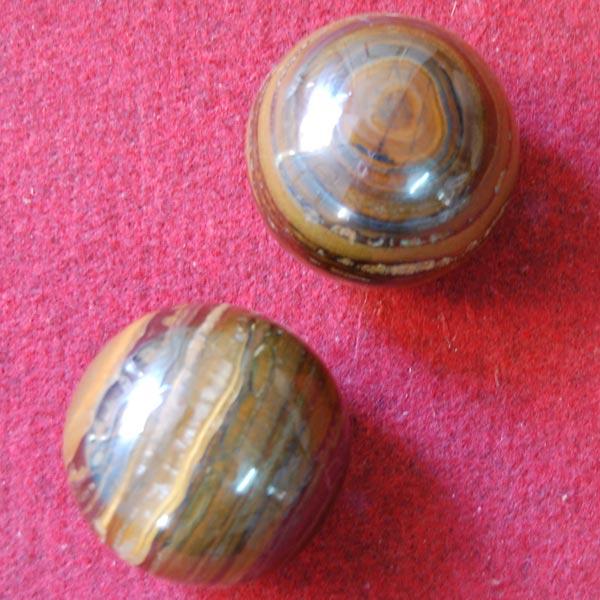 Agate Tiger Balls