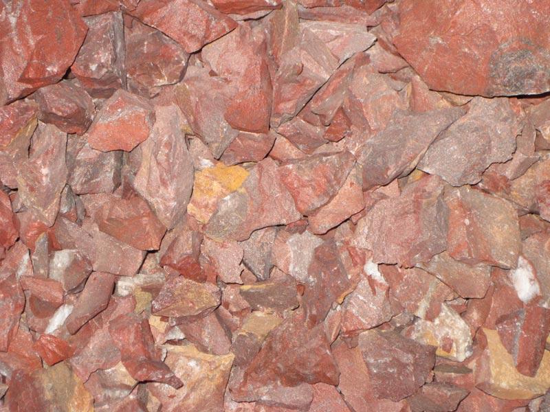 Raw Agate Red Jasper Stone