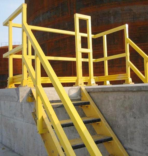 FRP Railing Fabrication