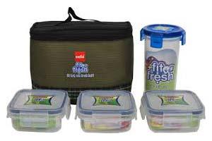 Fit n fresh Plastic Tiffin Box