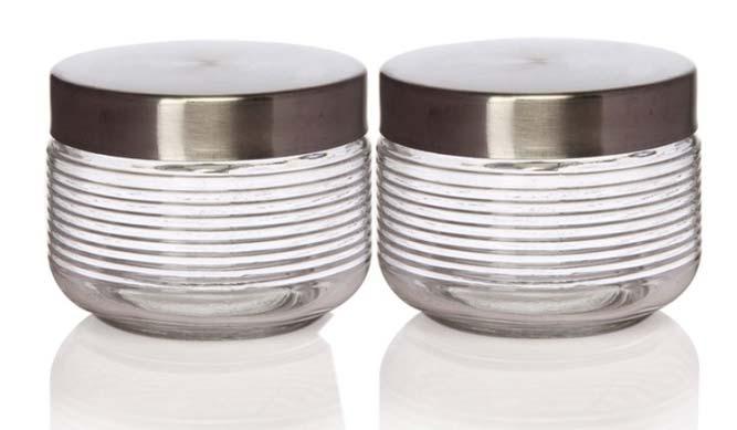 Steel Glass Jar