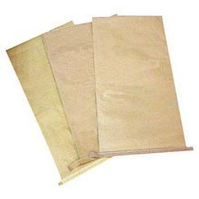 HDPE Laminated Centre Sealed Brown Paper Bag