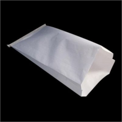 HDPE Laminated Centre Sealed White Paper Bag