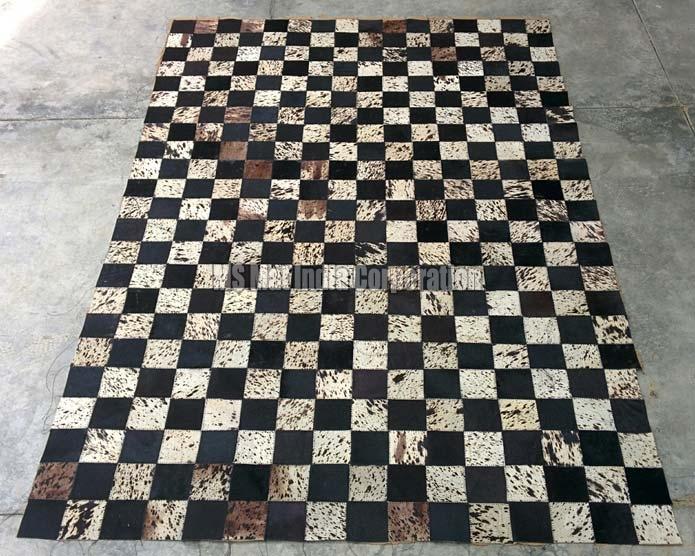 Design No. Leather rug (11)