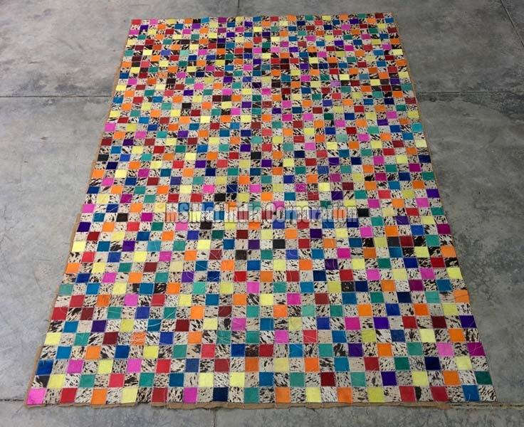 Design No. Leather rug (9)