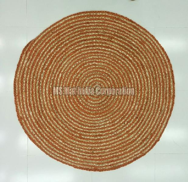 Hand Woven Braided Rug 04