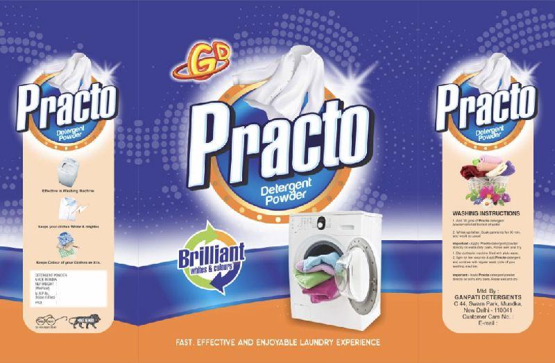 Packed Detergent Powder