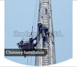 Industrial Chimney Installation