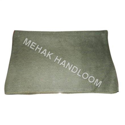 Olive Woolen Blanket