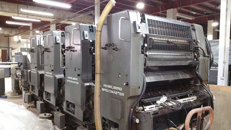 Sheet Fed Offset Machine (Heidelberg SM 102 V)