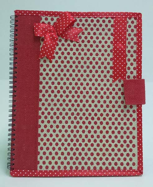 Notebooks Jute Fabric Bags