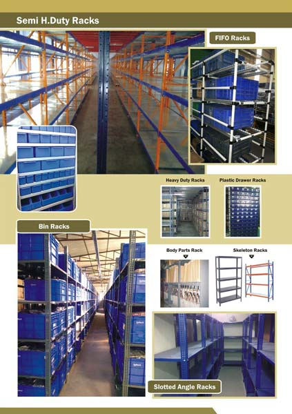 Semi Heavy Duty Rack