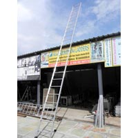 Aluminium Broad Step Single Ladder