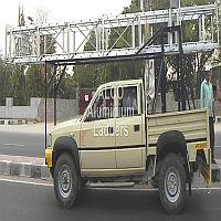 Aluminium Vehicle Mounted Tower Ladder