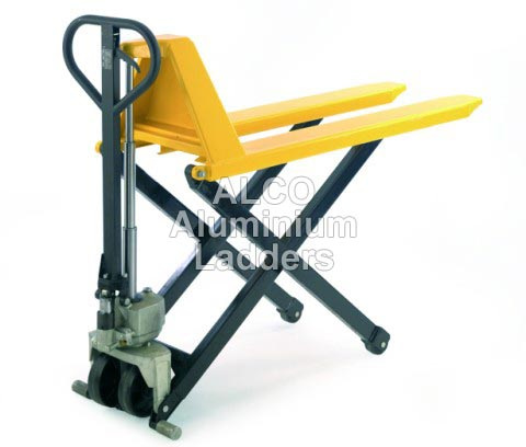 Alluminium High Lift Pallet Truck