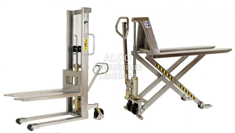 Stainless Steel High Lift Pallet Truck
