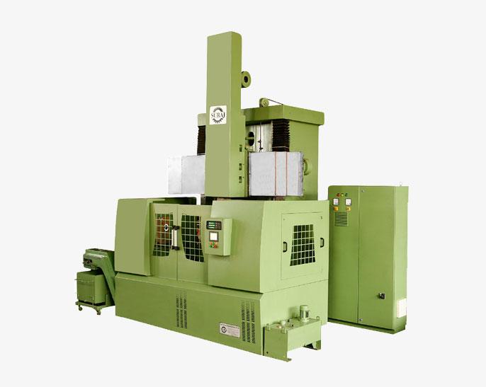 VTL Series Semiautomatic Vertical Lathe Machine