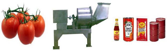 Tomato Processing Machine