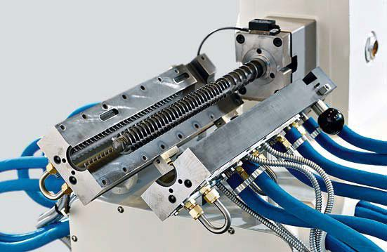 Single Screw Reciprocating Extruder (PCS 30)