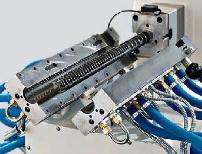 Single Screw Reciprocating Extruder (PCS 46)