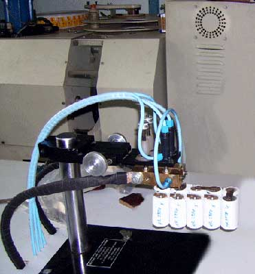 Battery Tab Welder