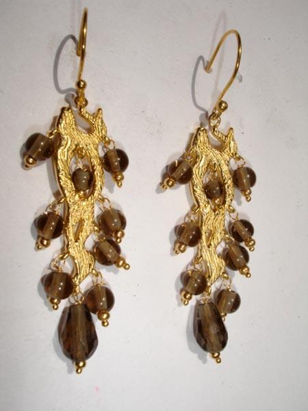 Glass Chandelier Earrings