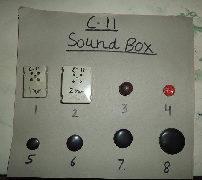 Toys Sound Box