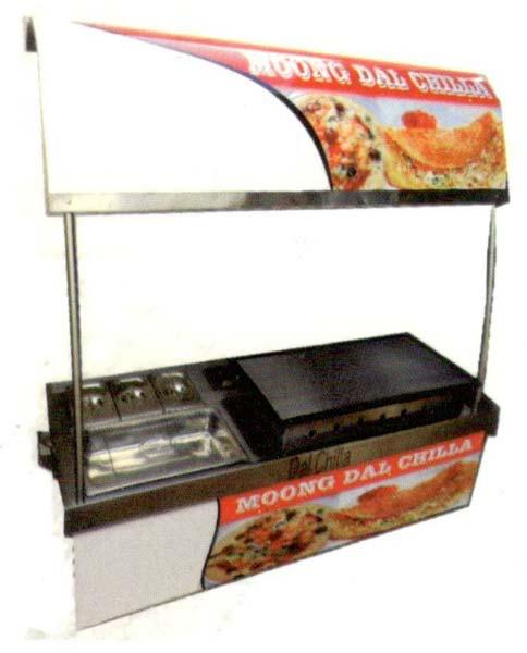 Chaat Display Counter