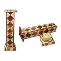 Pyramid Incense Stand