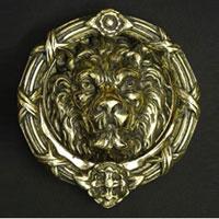 Big Face Lion Knocker
